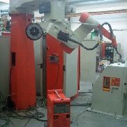 IGM robots RT 330, K4 with swivel booms and 2 rotating devices RP 500 A and counter bearings RF 500
