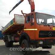 Mercedes Benz 1719 4x4 Kipper + Kran