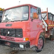 Fiat 130 crane and tipper