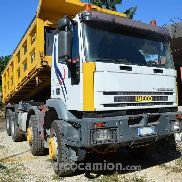 Iveco Truck Iveco Eurotrakker 4 trilateral tipping axles