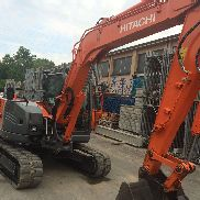 Mini escavatore Hitachi Zaxis 85 USBLC