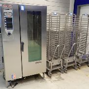 Combination: Rational combi steamer with trolleys