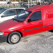 Ford Fiesta Van Car