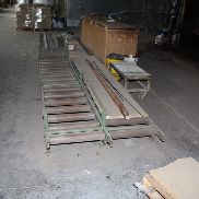 Roller conveyor belts and sideshifts