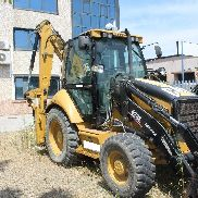 Caterpillar 428 backhoe