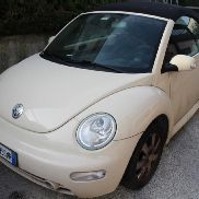 VW New Beetle Convertible Car