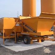 SUMAB USED mobile concrete plant M-2200 Available video NOW!