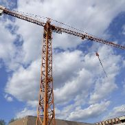 Tower crane (top slewing)