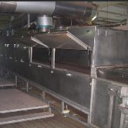 stainless steel tray dryer made by Trockner, type OFG-1WL
