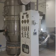 stainless steel fluid bed dryer granulator made by Glat
