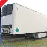 double deck refrigerator semitrailer used chereau