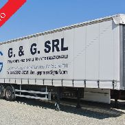 French semi-trailer used markers