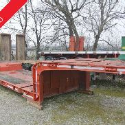 Semitrailer cometto cradle used extendable