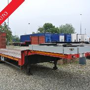 Semitrailer De Angelis carrellone Neck Goose with ramps Used