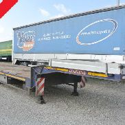 used semi-trailer bed trailer De Angelis
