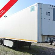 double deck refrigerator semitrailer used krone