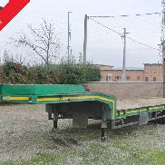 semitrailer bed trailer winch used Ctb