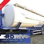 semi-trailer tipper silo tank used mistrall