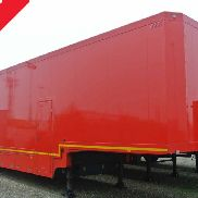 semitrailer racing double deck car carrier used
