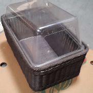 # 896 - Shopping basket with plastic insert
