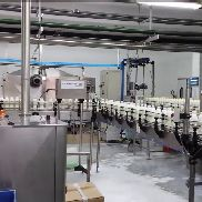 Complete Procomac PET bottling line for fresh milk