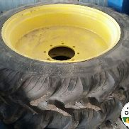Narrow wheels Taurus tractor John Deere 6115M and 6115MC
