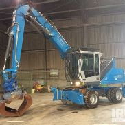 2011 Fuchs-Terex MHL 820 Wheel Material Handler - Electrically Operated