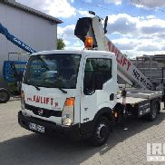 2010 Palfinger P260B Boom on 2008 Nissan Cabstar 35.15 Chassis