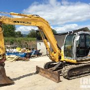 2007 New Holland E80 MSR Minibagger