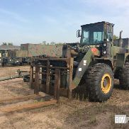 International Hough M10A Rough Terrain Forklift