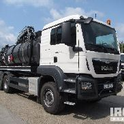 2016 Man TGS 33.400BB 6x4 Vacuum Tanker Truck - Unused