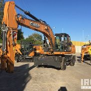 2015 (unverified) Case WX218 Wheel Excavator