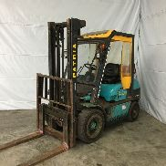 Used forklift Patria PFT 30T-1