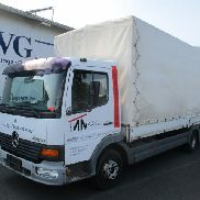 Truck tarp covered and tarpaulins DAIMLERCHRYSLER Atego 817