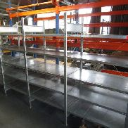 Item consisting of: approx. 5 lfdm. steel shelving