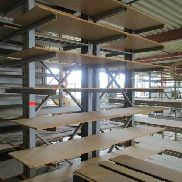 Cantilever rack consisting of