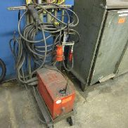 Electrode welding machine with 1 cart