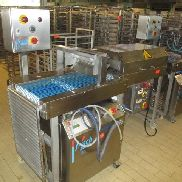 Apprekotiermaschine consisting of: 1 conveyor FRITSCH SpritzMatic