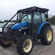 2001 New Holland TS110 4x4 Utility Tractor (118539)