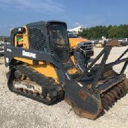 2012 John Deere 333D Tracked Skid Steer Loader (121249)