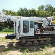 Altec Digger Derrick rear mounted on 2012 IHI IC50 All-Terrain Track Machine (122482)