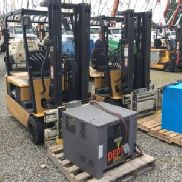 2003 Caterpillar EP20KT Solid Tired Forklift (122800)