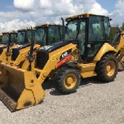2009 Caterpillar 416E 4x4 Tractor Loader Backhoe (122877)