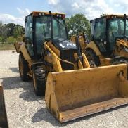 2009 Caterpillar 416E 4x4 Tractor Loader Backhoe (122879)