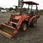 2005 Kubota B21 4x4 Mini Tractor Loader Backhoe (122973)