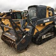 2012 John Deere 333D Tracked Skid Steer Loader (123650)