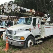 Altec Digger Derrick rear mounted on 2005 Sterling Acterra Utility Truck (123930)