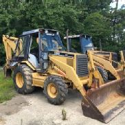 1994 Caterpillar 416B 4x4 Tractor Loader Backhoe (123960)