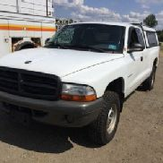 2002 Dodge Dakota 4x4 Extended-Cab Pickup Truck (123974)