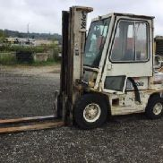 Yale 4000 # Pneumatic Tired Forklift (123987)